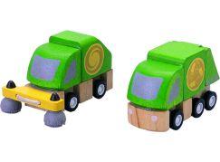 Plan Toys popelářský a čistící vůz