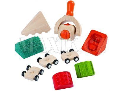 Plan Toys Sada na výrobu města z modelíny