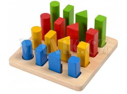 Plan Toys Třídění tvarů a velikostí