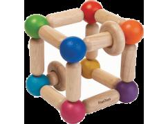 Plan Toys Tvarovací chrastítko - Čtverec