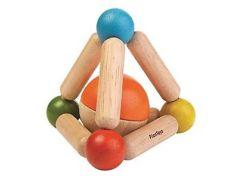 Plan Toys Tvarovací chrastítko - Triangle