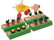 Plan Toys Zeleninová zahrádka