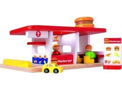 PlanToys 6089 - Prodejna hamburgerů