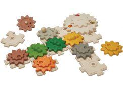 PlanToys Ozubená kola & puzzle