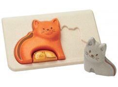 PlanToys Puzzle kočky