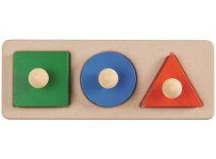PlanToys Puzzle různé tvary