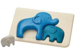 PlanToys Puzzle sloni