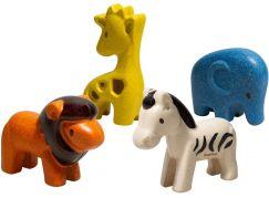 PlanToys Set Divoká zvířata