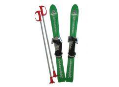 Plastkon Baby Ski Dětské lyže 70cm 2012 PP zelená