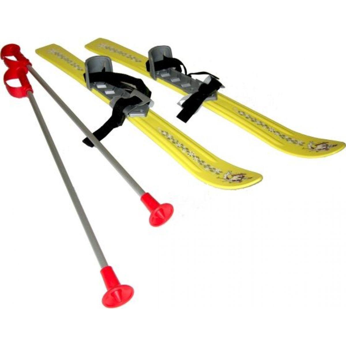 Plastkon Baby Ski Dětské lyže 70cm 2012 PP žlutá