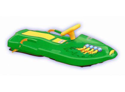 Plastkon Boby Snow Boat - Zelené
