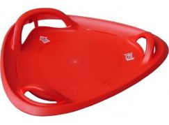 Plastkon Sáňkovací talíř Meteor 60 červený
