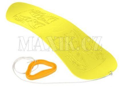 Plastkon Snowboard Skyboard žlutý