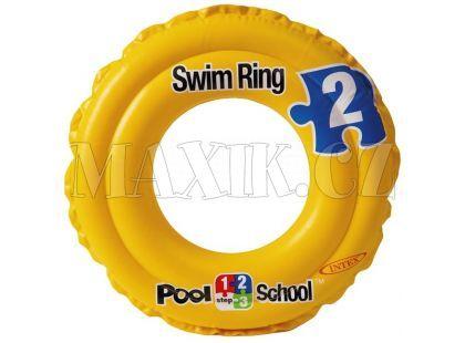 Plavací kruh Pool School Intex 58231