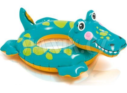Plavací kruh Zvířátka Intex 58221 - Krokodýl