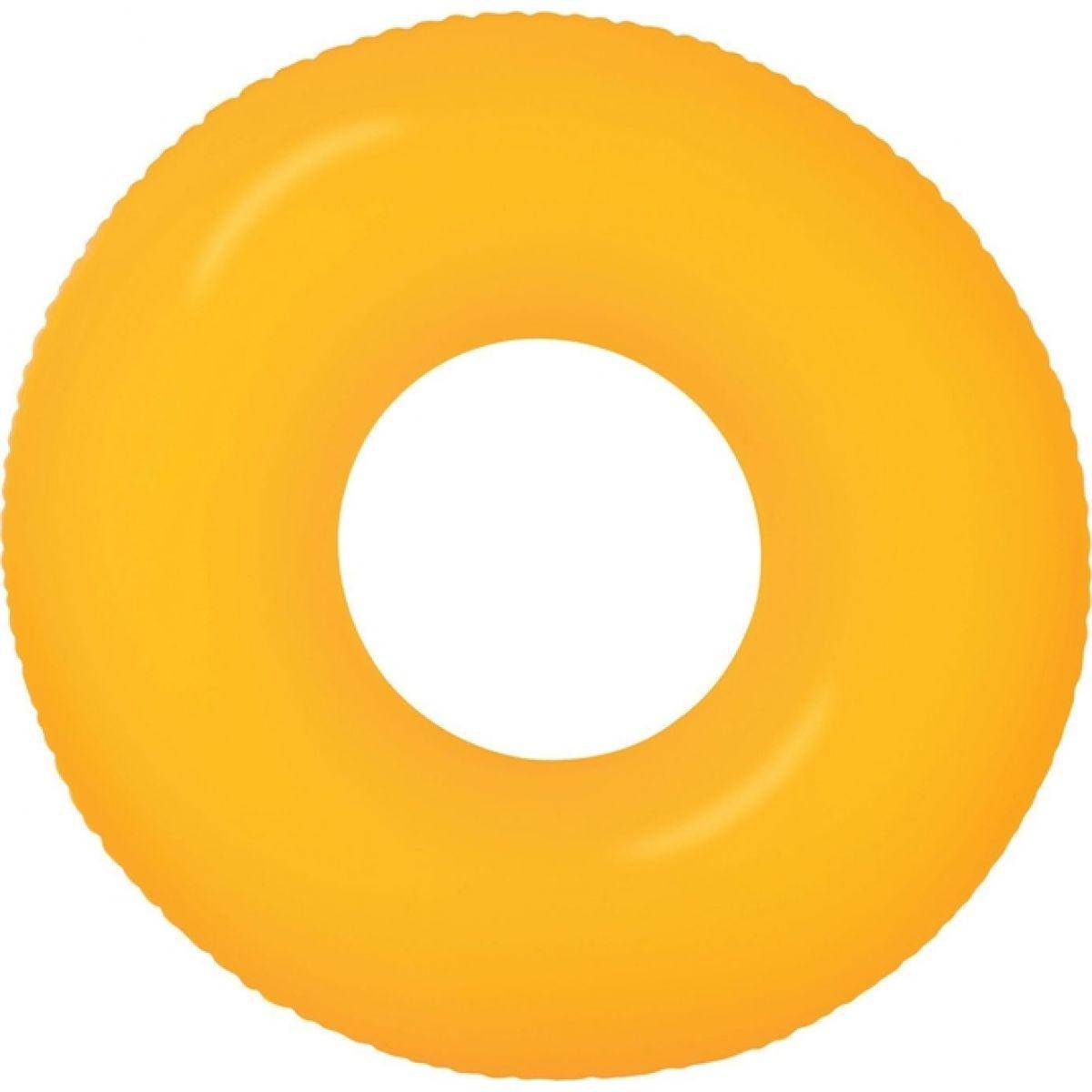 Plavací kruh 91cm Neon Frost Intex 59262 - Oranžová