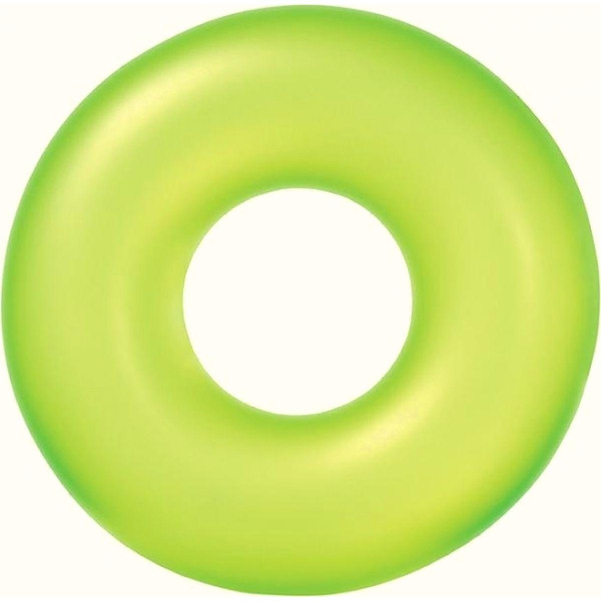 Plavací kruh 91cm Neon Frost Intex 59262 - Zelená