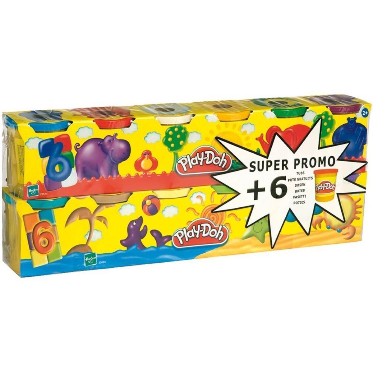 Play-Doh 6+6 kelímků