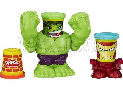 Play-Doh Avengers Drtící Hulk