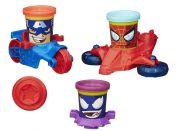 Play-Doh Avengers Kelímky ve tvaru hrdinů s vozidly