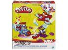 Play-Doh Avengers Kelímky ve tvaru hrdinů s vozidly 2