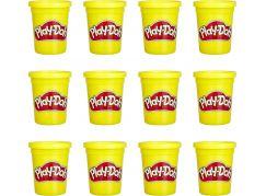 Play-Doh balení 12 ks kelímků žlutá