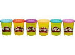 Play-Doh balení 6 tub - výrazné barvy