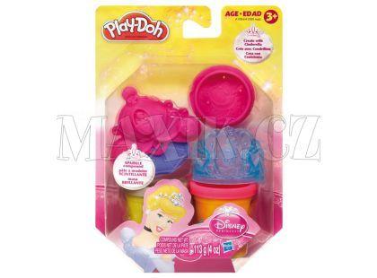 Play-Doh Disney Princess třpytivá modelína s vytlačovátky A1099 - Popelka