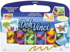 Play-Doh DohVinci Náhradní tuby 6ks Dvoubarevné