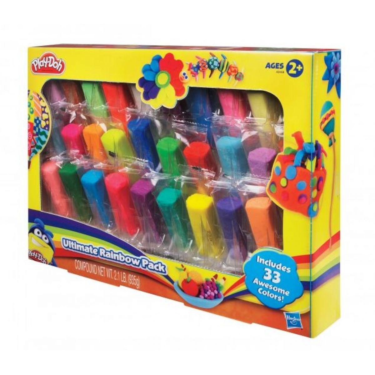 Play-Doh Duhové balení 45 modelín
