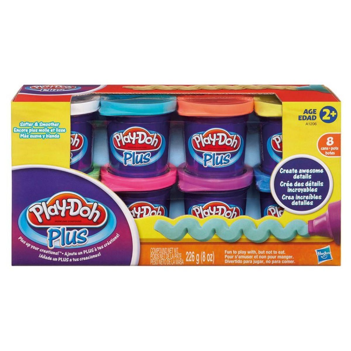 Play-Doh Plus 8 kelímků