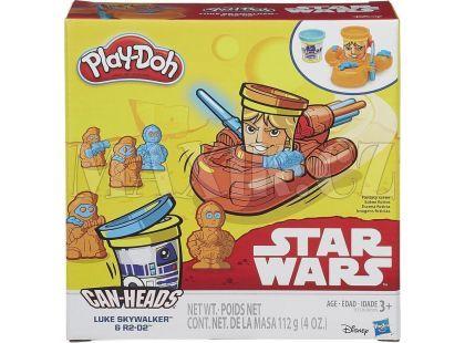 Play-Doh Star Wars Dvojbalení kelímků - Luke Skywalker a R2-D2