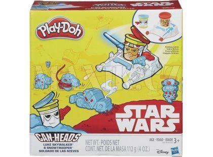 Play-Doh Star Wars Dvojbalení kelímků - Luke Skywalker a Snowtrooper