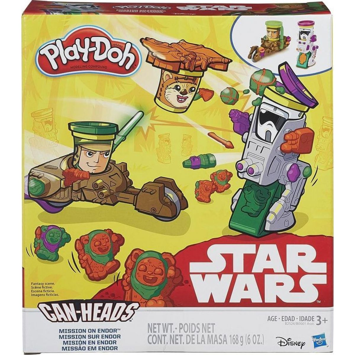 Play-Doh Star Wars Vozidla dvojbalení - Mission on Endor