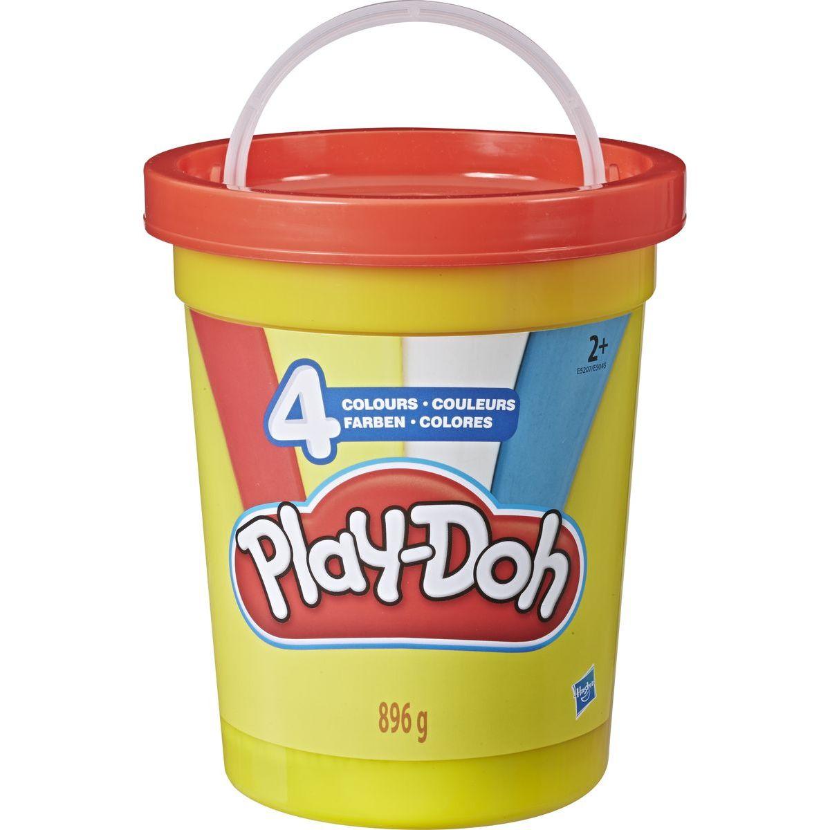 Play-Doh Super balení modelíny červený kyblík