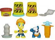 Play-Doh Town Figurka se zvířátkem - Pracovník města - Poškozený obal