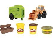 Play-Doh traktor