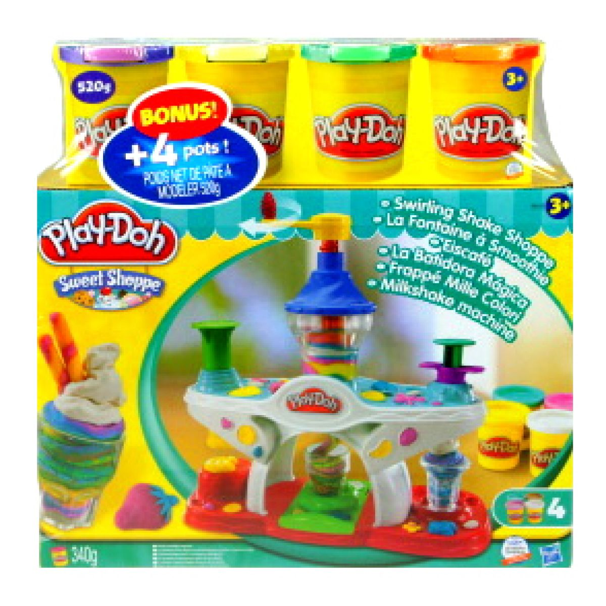 Play-Doh výroba zmrzlinových pohárů a nápojů + BONUS