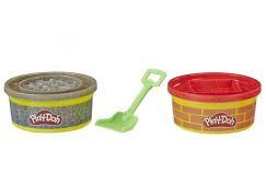 Play-Doh Wheels Stavební modelína červená, šedá