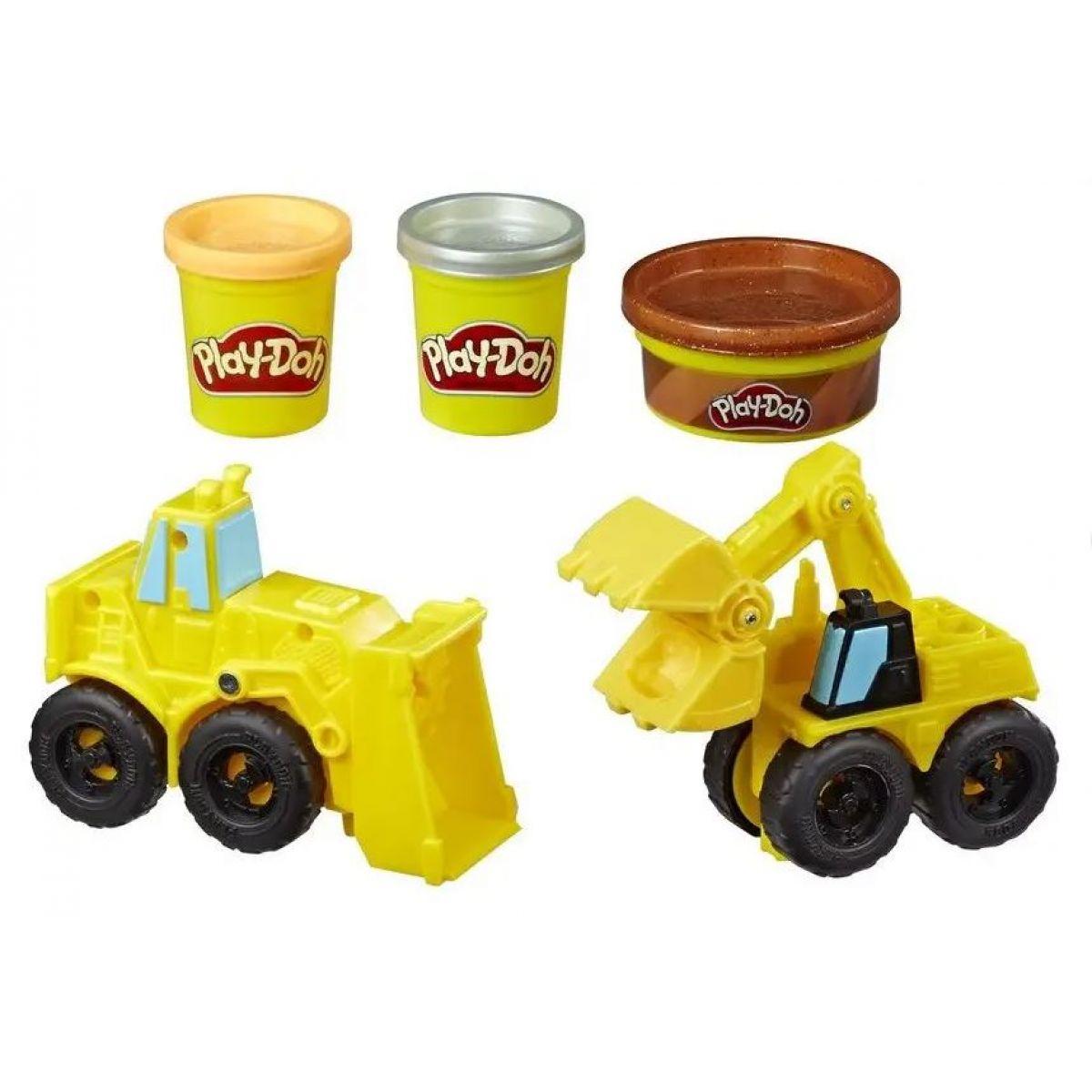 Play-Doh Wheels Těžba