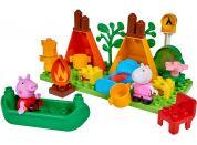 PlayBig BLOXX Peppa Pig Kempingová sada