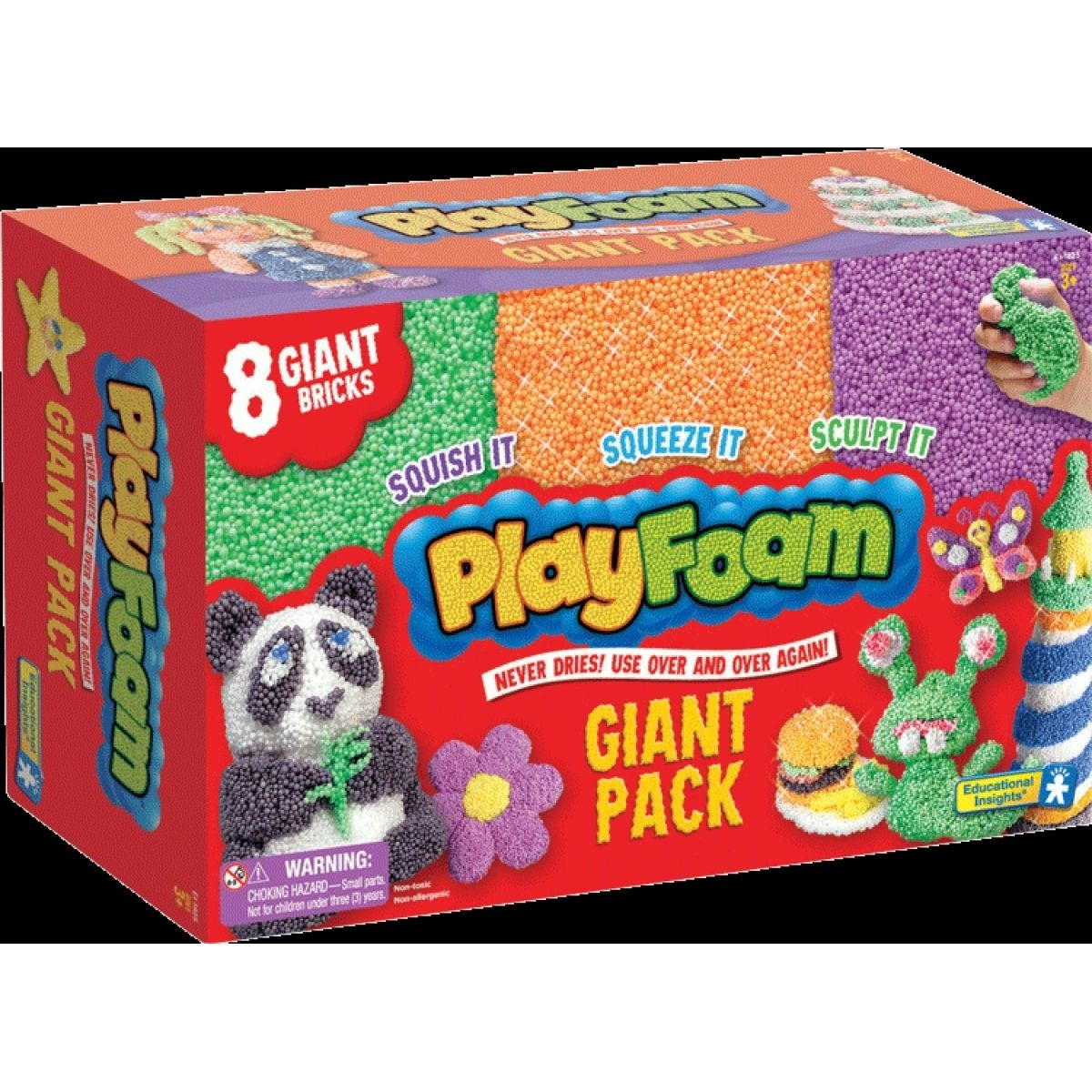 PlayFoam GIANT 8 pack