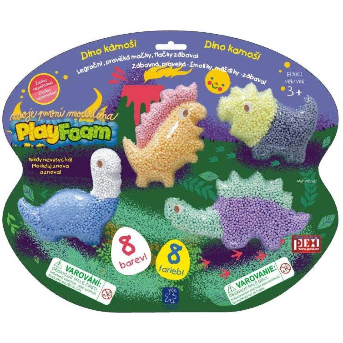PlayFoam modelína Dino kámoši