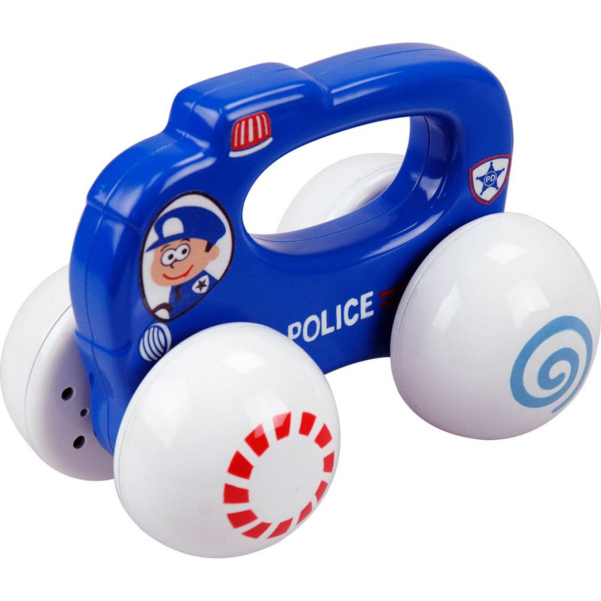Playgo Chrastící autíčko Policie