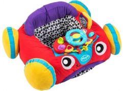 Playgro Baby auto se zvukem modrý volant