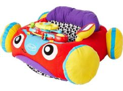 Playgro Baby auto se zvukem žlutý volant