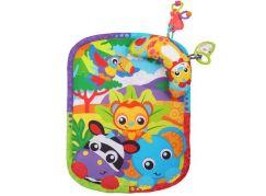 Playgro Hrací podložka s polštářem Zoo