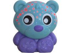 Playgro Usínací lampička medvídek s projektorem - zelená