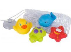 Playgro Vodní zvířátka se síťkou 4ks