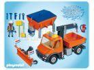 Playmobil 4046 Vozidlo správy silnic 2